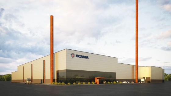 New energy-efficient foundry helps Scania make cost savings